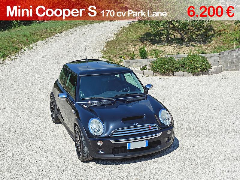 Mini cooper s r53 park lane