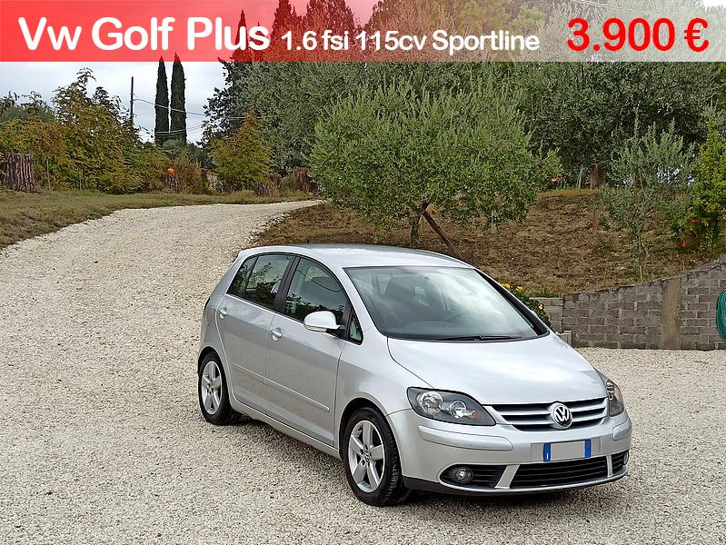 Volkswagen Golf Plus 1.6 fsi